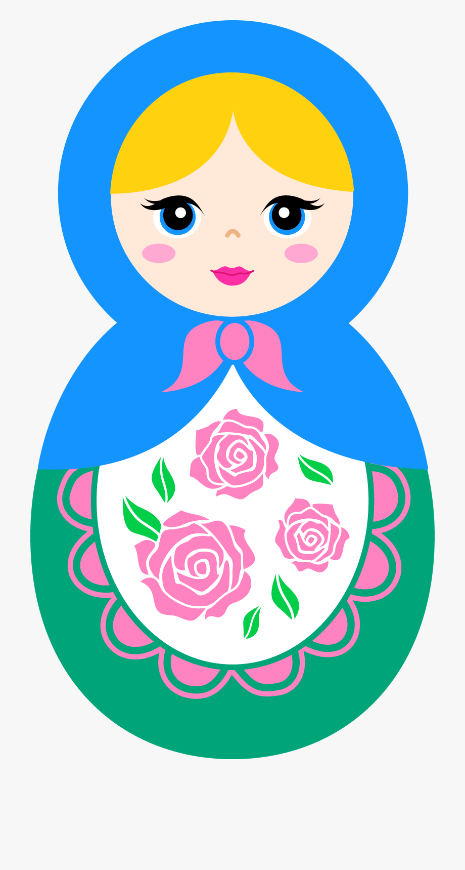 Russian Doll Clipart.