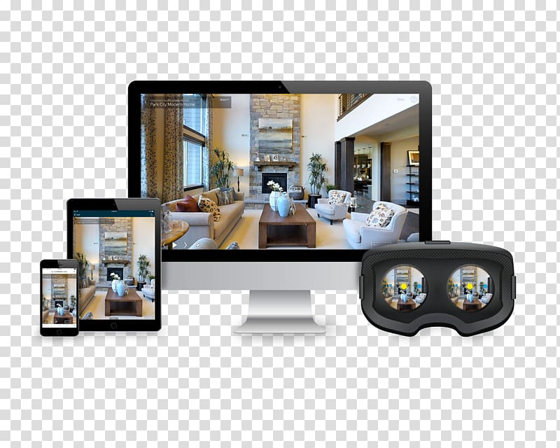Virtual tour Stereo camera grapher, Camera transparent.