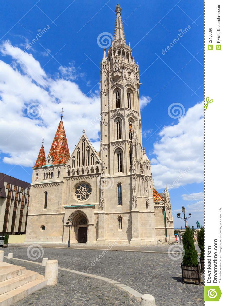 Matthias Church In Budapest Royalty Free Stock Image.