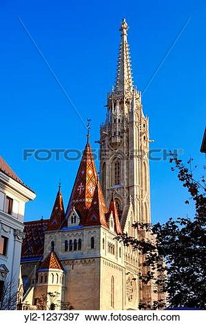 Picture of Church of Our Lady or Matthias Church MBtyBs templom.
