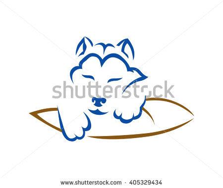 Dog Mattress Stock Photos, Royalty.