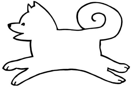 Similiar Sled Dog Drawing Simple Keywords.