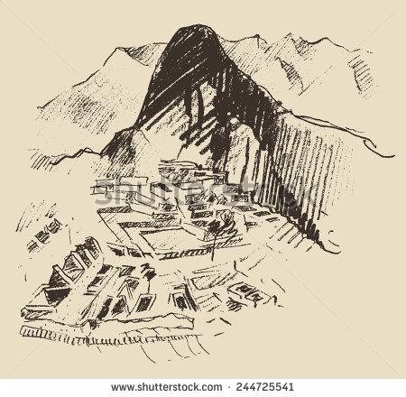 Machu Picchu Vectores, imágenes y arte vectorial en stock.