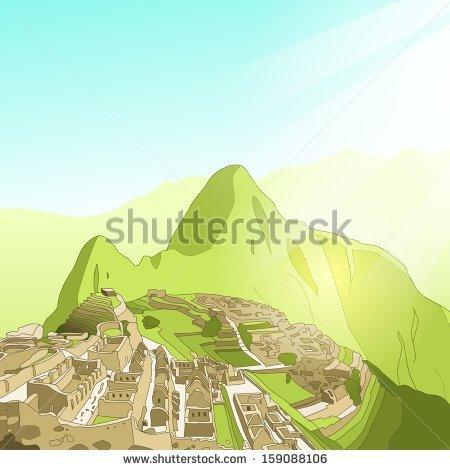 Machu Picchu Stock Images, Royalty.