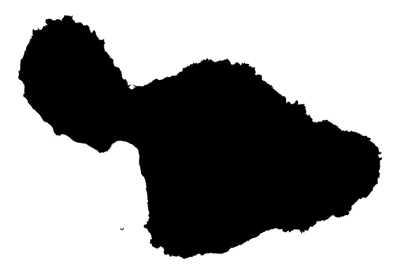 Maui island clipart.