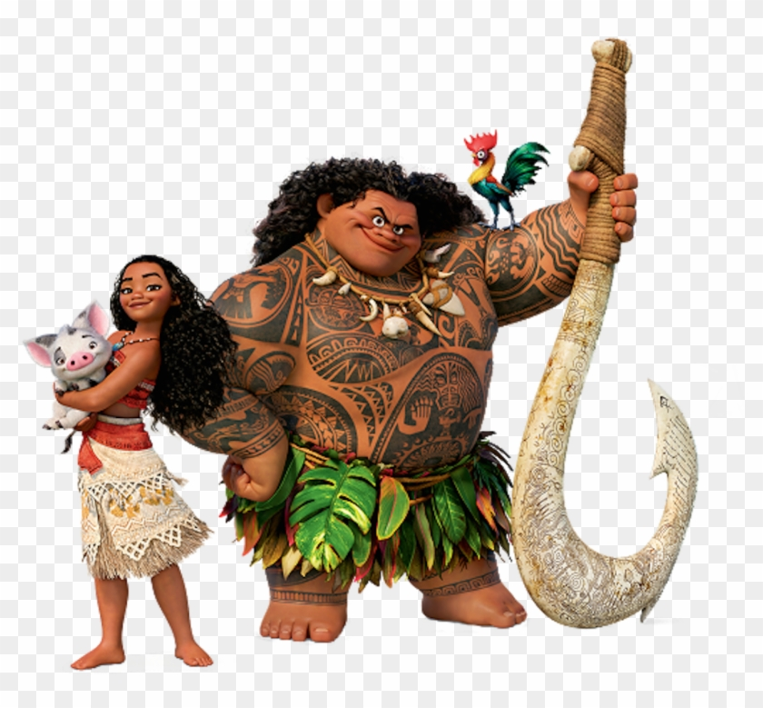 Moana And Maui Transparent, HD Png Download.