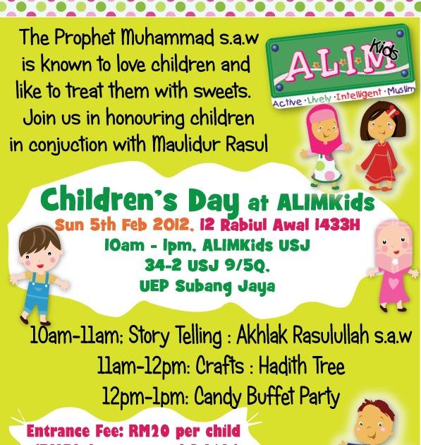 ALIMKids Islamic Bookshop USJ 9, Selangor Malaysia.