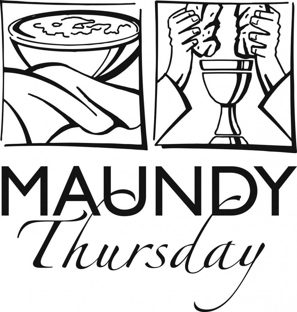 Maundy thursday clipart black and white 5 » Clipart Portal.