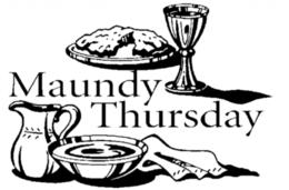 Maundy Thursday clipart.