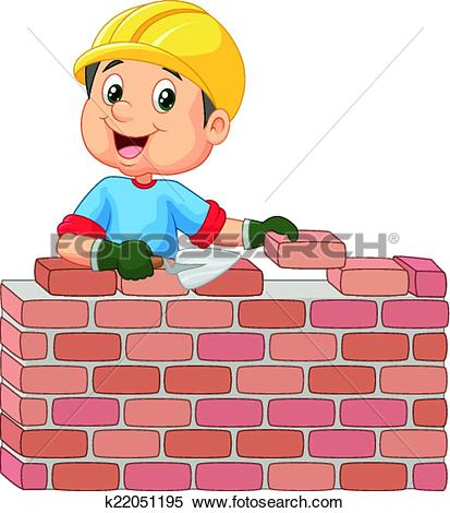 Bricklayer Clip Art Royalty Free. 924 bricklayer clipart vector.
