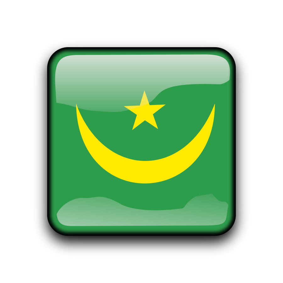 Flag of Mauritania Clipart, vector clip art online, royalty free.