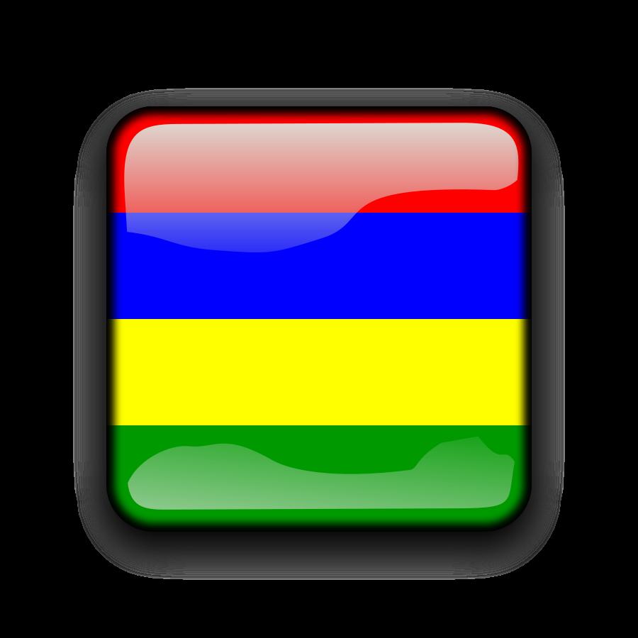 Mauritius flag clipart.