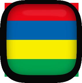 Free Animated Mauritius Flags.