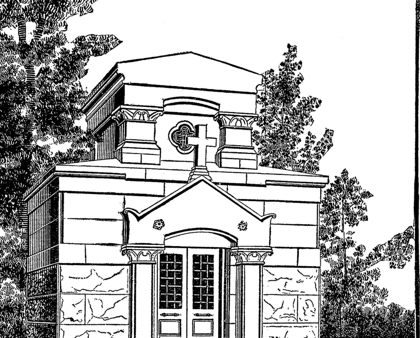 Free Mausoleum Clip Art Image!.