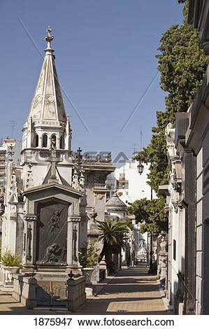 Picture of Buenos Aires, Argentina; Tombs And Mausoleums In.