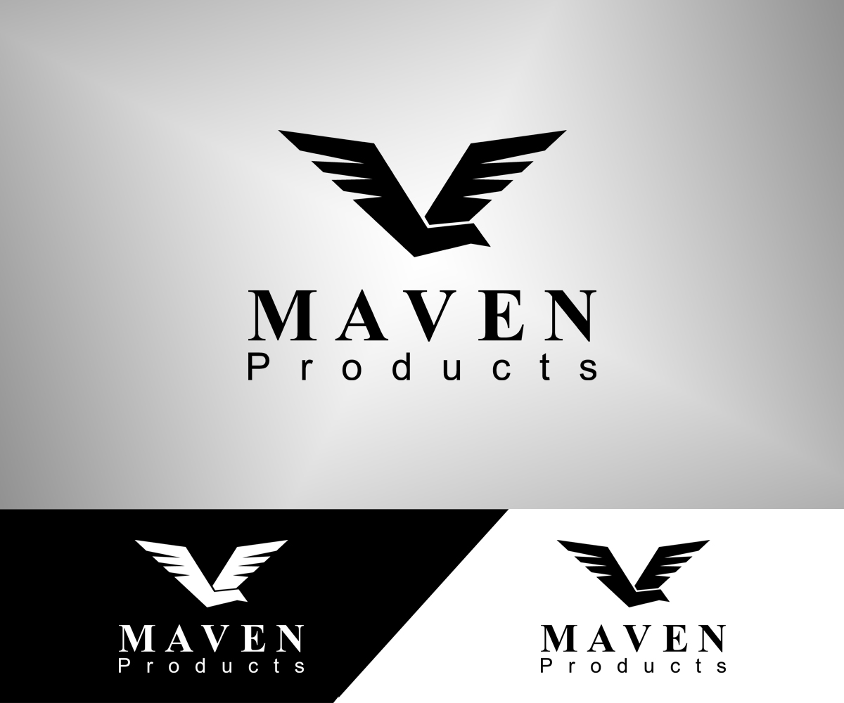Bold, Serious, Online Shopping Logo Design for MAVEN by.