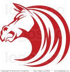 Stallion logo.