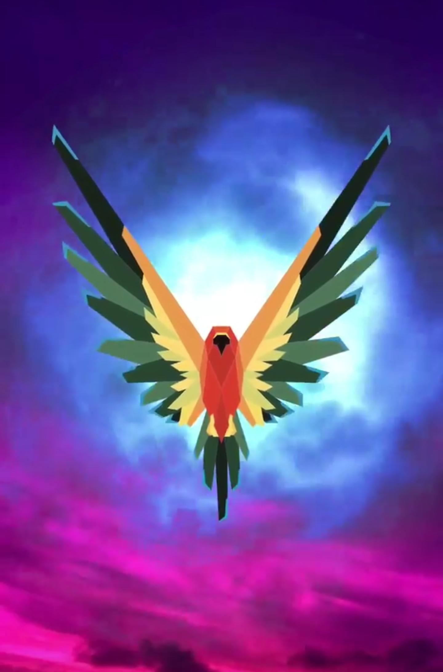 Maverick bird Logos.