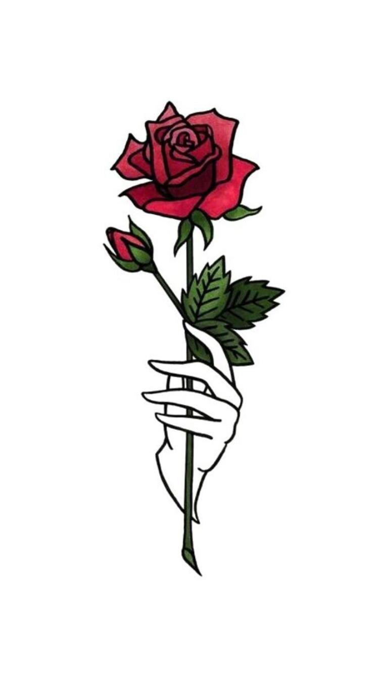 Mawar merah #art2018.