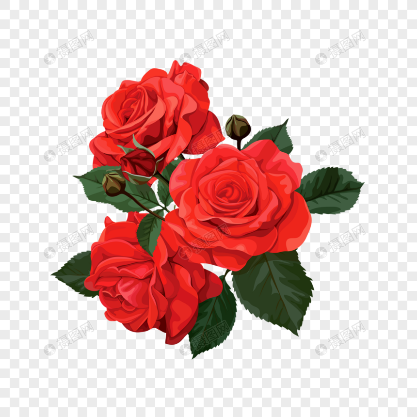 mawar merah berduri gambar unduh gratis_ Grafik.
