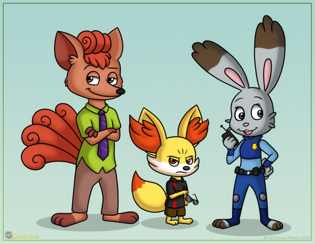 Blame the 1st: Fan Art Friday: Going Wild For Zootopia III.