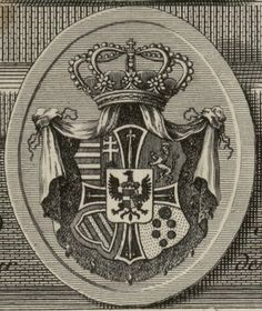 Coat of Arms of Archduke Charles of Austria, Duke of Teschen (1771.