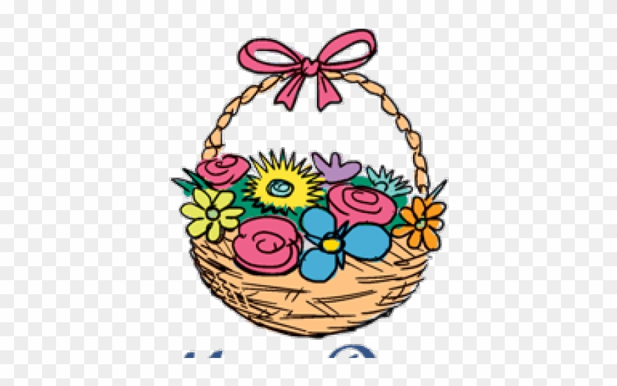Download Free png Mothers Day Clipart May Basket Png.