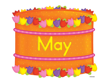 May birthday clipart 4 » Clipart Station.