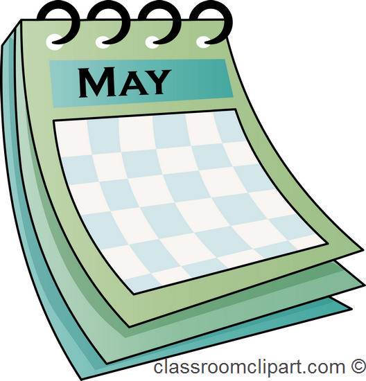 Clipart may calendar 7 » Clipart Station.