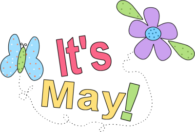 Free May Clip Art.