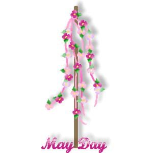 18 Very Beautiful May Day Clipart Pictures.