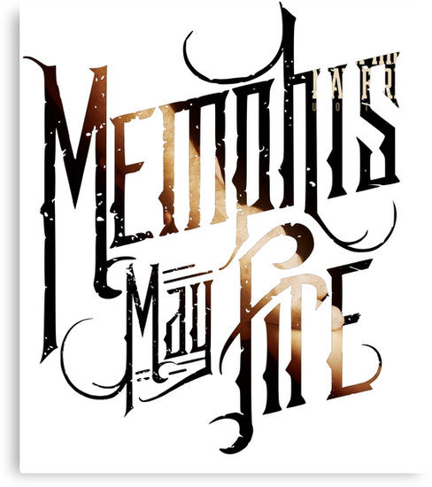 "Memphis May Fire ""Unconditional"" Logo"" Canvas Prints by."
