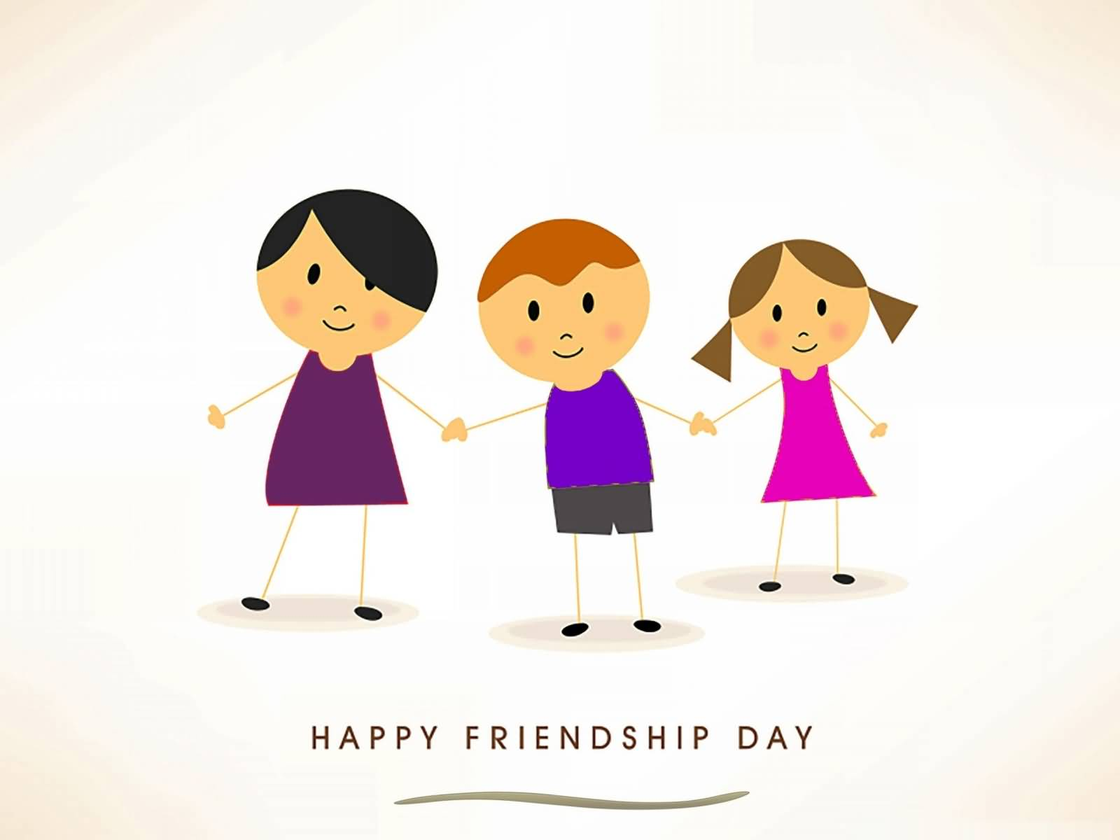 May Friendship Day Clipart.
