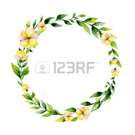 2,744 Textile Wreath Stock Vector Illustration And Royalty Free.