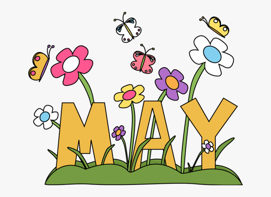 Month May Clip Art, Cliparts & Cartoons.