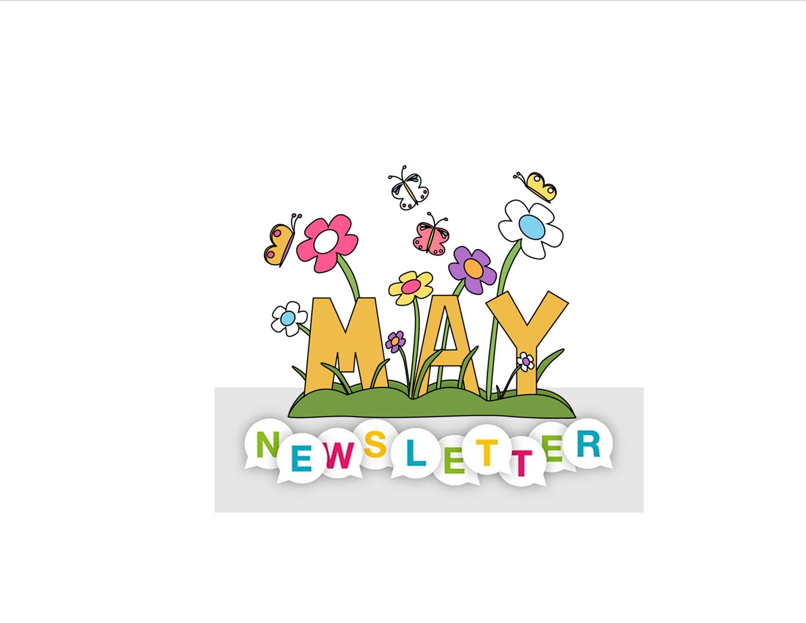 Newsletter clipart may newsletter, Newsletter may newsletter.