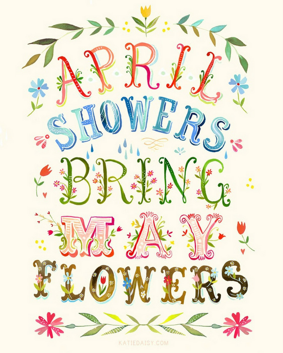 April showers bring may flowers clipart 8 » Clipart Station.
