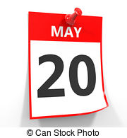Calendar 20 may Clipart and Stock Illustrations. 32 Calendar 20.