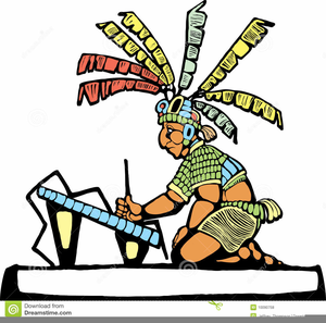 Ancient Mayan Clipart.