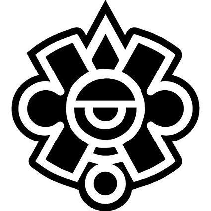Mayan Logo Vinyl Car/Laptop/Window/Wall Decal.
