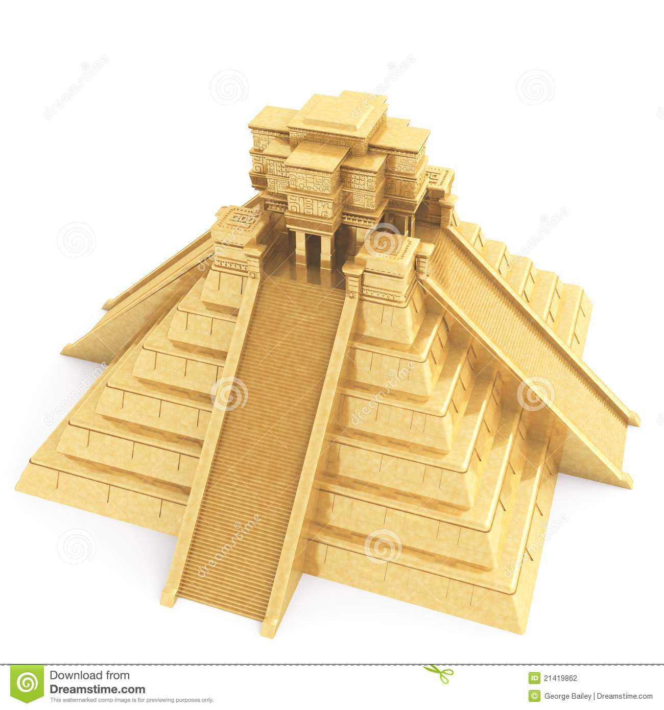 mayan temple clipart clipground
