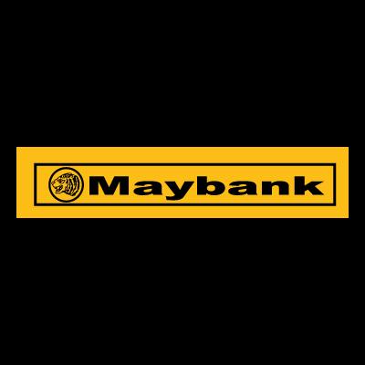 Maybank logo vector free download.