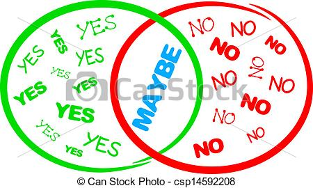 Yes no maybe Clipart Vector and Illustration. 68 Yes no maybe clip.