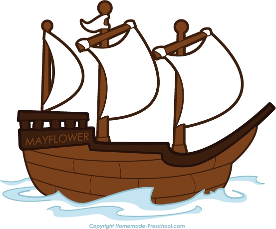 Mayflower Black And White Clipart#2056064.