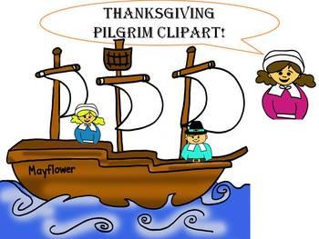 Pilgrims mayflower clipart.