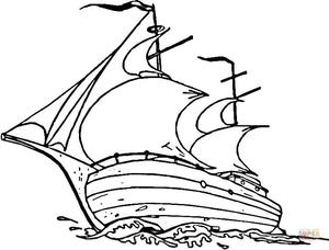 Mayflower Ship Clipart.
