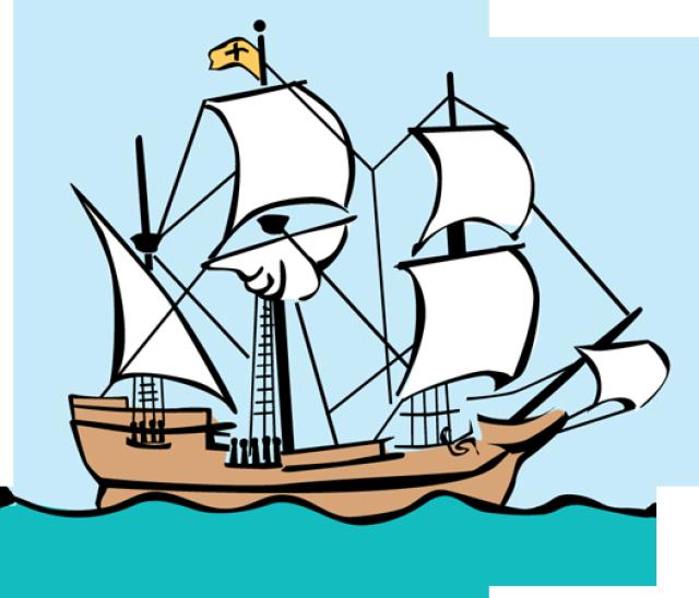 Mayflower Clipart.