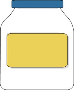 Free clipart mayonnaise jar.