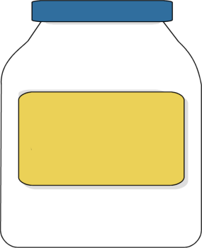 Mayo Bottle Clipart.
