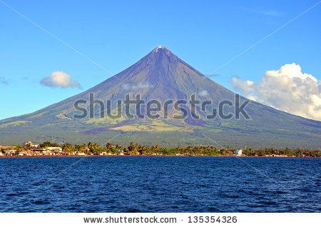 Mayon Volcano Stock Photos, Royalty.